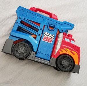 Mega Bloks FastTrack racing rig